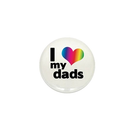I love my dads Mini Button (100 pack)