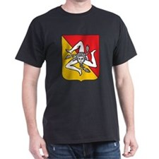 Sicilian stickers and magnets T-Shirt