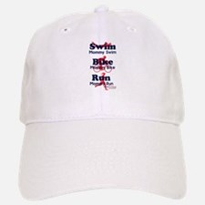 Triathlon Mommy Baseball Baseball Cap