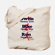 Triathlon Mommy Tote Bag