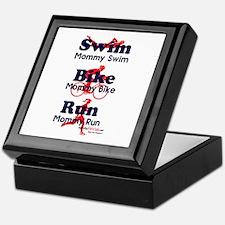 Triathlon Mommy Keepsake Box
