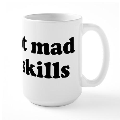 mad ninja skills Large Mug