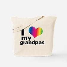 i love my grandpas Tote Bag
