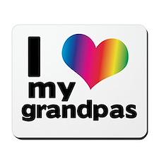 i love my grandpas Mousepad