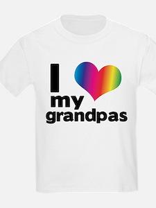 i love my grandpas T-Shirt