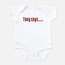 Tony Soprano says Infant Bodysuit