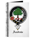 Andrew Clan Crest Badge Journal