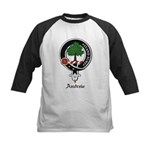 Andrew Clan Crest Badge Kids Baseball Jersey