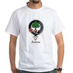 Andrew Clan Crest Badge White T-Shirt
