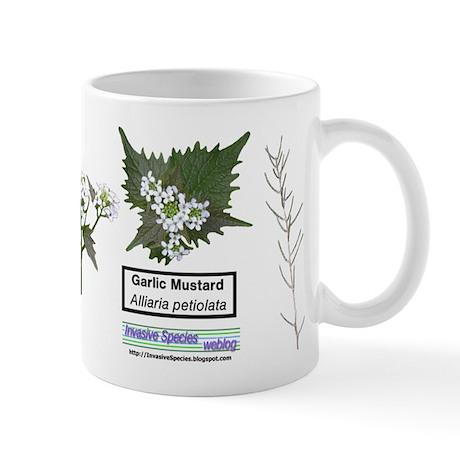 Garlic Mustard Mug