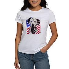 Dalmatian with Flag Tee