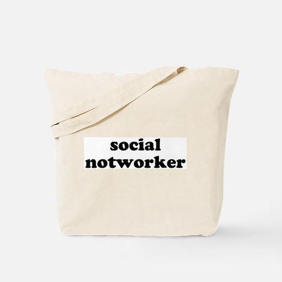 social notworker Tote Bag