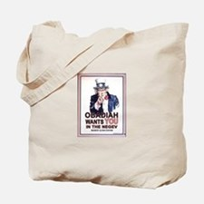 Obadiah Wants YOU Tote Bag