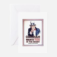 Obadiah Wants YOU Greeting Cards (Pk of 10)