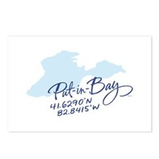 Put-in-Bay Postcards (Package of 8)