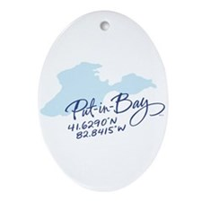 Put-in-Bay Ornament (Oval)