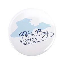 "Put-in-Bay 3.5"" Button"