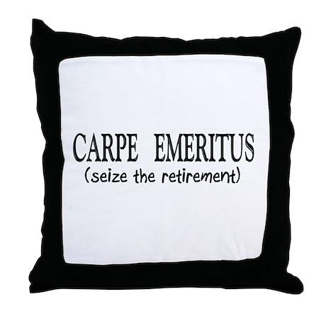 Retired II Throw Pillow