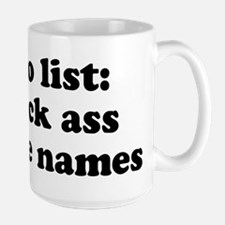 to do list Ceramic Mugs