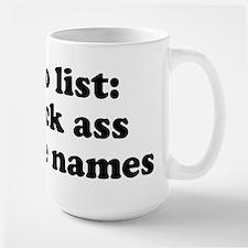 to do list Large Mug