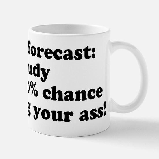 todays forecast Mug