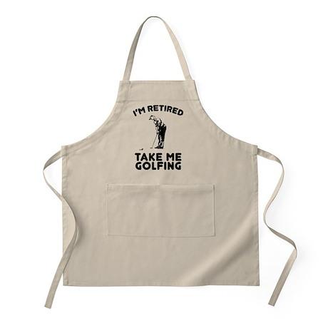 Take Me Golfing Apron