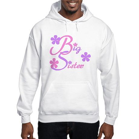 Big Sister Pastels Hooded Sweatshirt