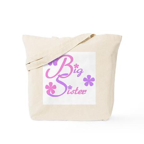 Big Sister Pastels Tote Bag