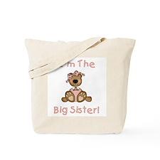Bear Big Sister Tote Bag