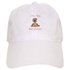 Bear Big Sister Baseball Cap