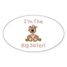 Bear Big Sister Decal