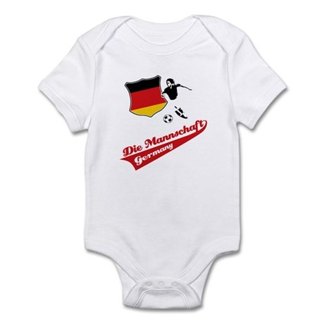 German soccer Infant Bodysuit