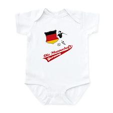 German soccer Infant Bodysuit