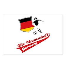 German soccer Postcards (Package of 8)