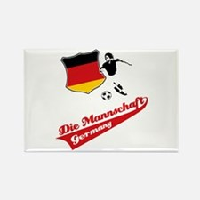German soccer Rectangle Magnet