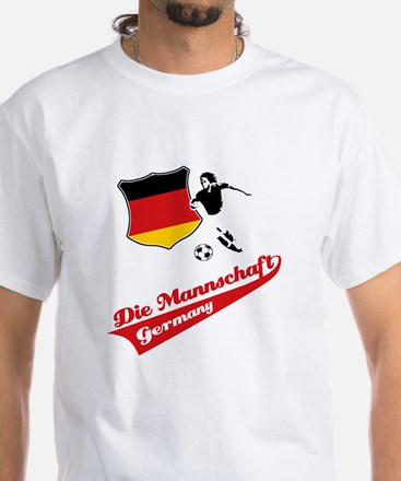 German soccer White T-Shirt