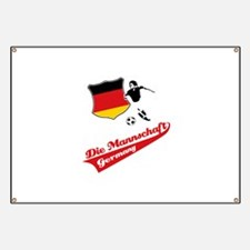 German soccer Banner