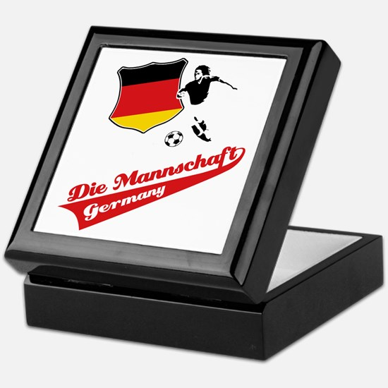 German soccer Keepsake Box
