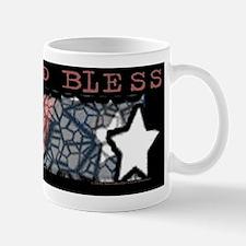 God Bless Flag Mug