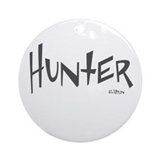 Hunter Ornament (Round)