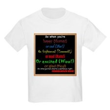 SchoolhouseRockTV Interjections T-Shirt