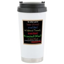 SchoolhouseRockTV Interjections Travel Mug