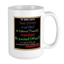 SchoolhouseRockTV Interjections Mug