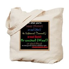 SchoolhouseRockTV Interjections Tote Bag
