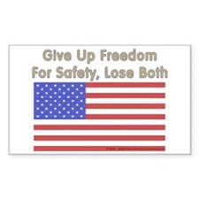 Wake Up America Sticker (Rectangle 10 pk)