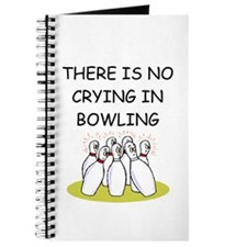 bowling gifts Journal