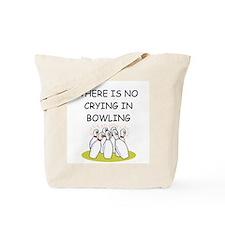 bowling gifts Tote Bag