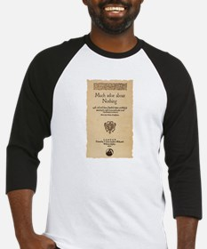 Much Ado About Nothing Baseball Jersey