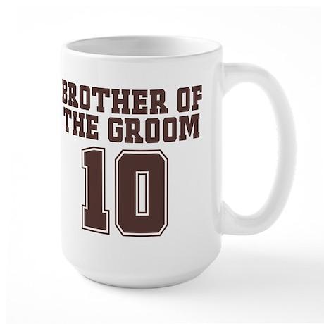 Uniform Groom Brother 10 Large Mug
