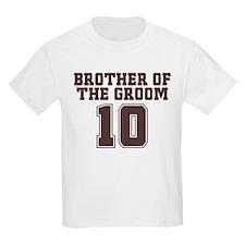Uniform Groom Brother 10 T-Shirt